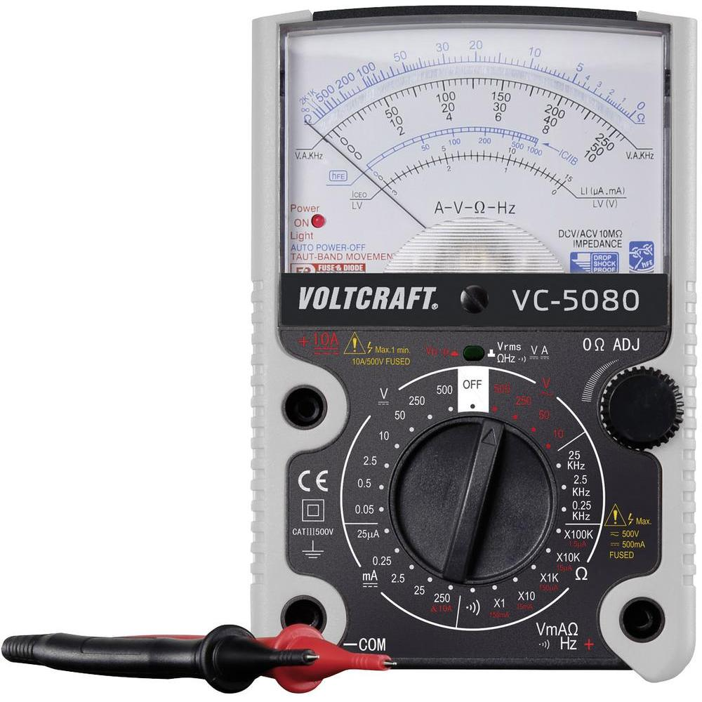 Voltcraft VC-5080 - Analogový multimetr